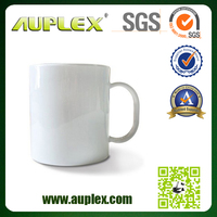 11oz White Coated AAA Grade sublimation mug black