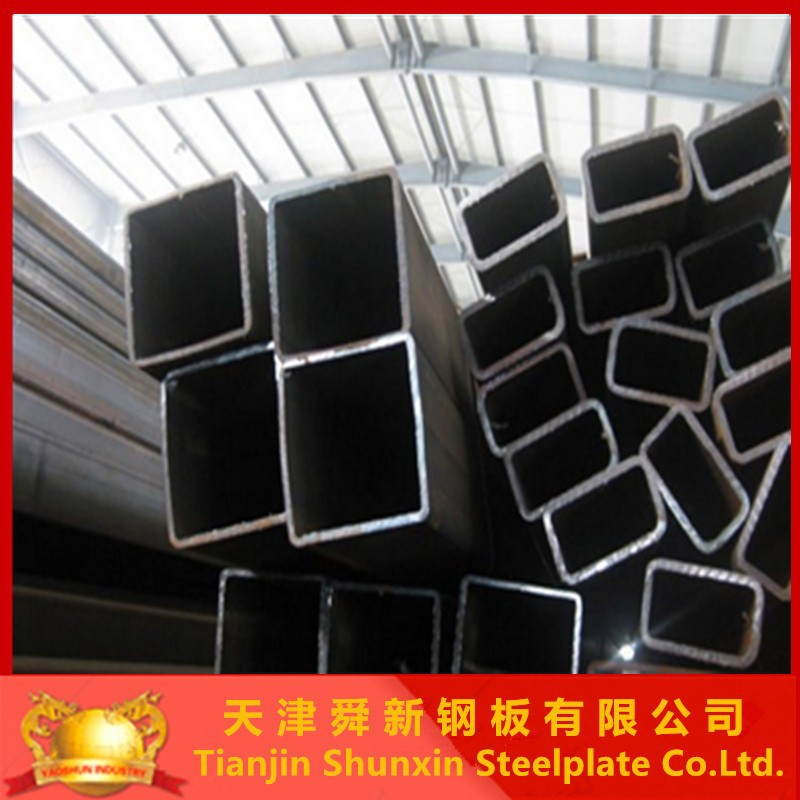 ASTM A500 steel pipe square tube building materials