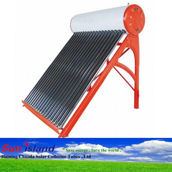 150L, 200L, 250L, 300L, Integrated Pressurized Stainless Steel Solar Water Heater with Heat Pipe