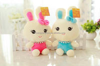 Top grade hot sell easter plush stuffed rabbits toy
