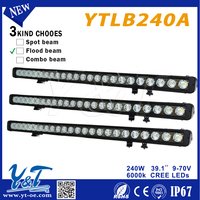 2015 39.1inch 240w single row led light bar led Light Bar marine,mining light mini led light