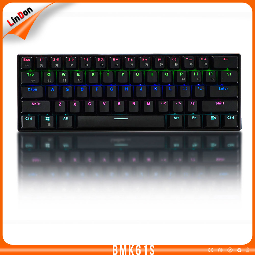 Hot Selling Bluetooth Wireless LED Desktop Mechanical Keyboard With Colorful Backlit