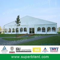 Large Outdoor Aluminium PVC Meeting Tent For sale