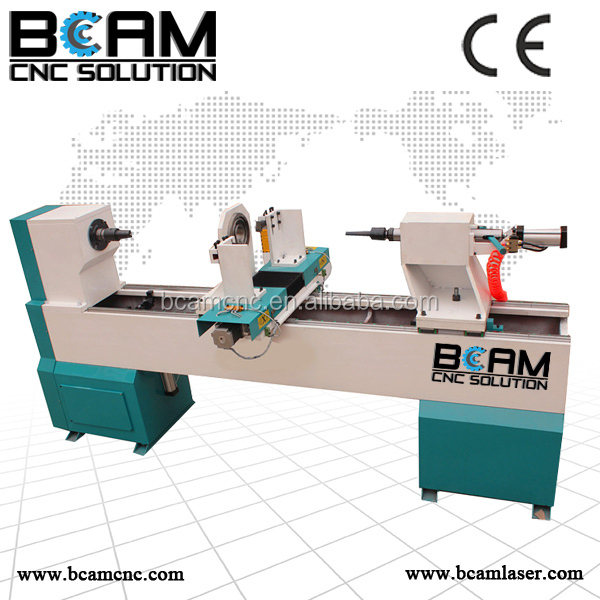 wood lathe tools/woodworking machine/baseball bat cnc wood turning lathe