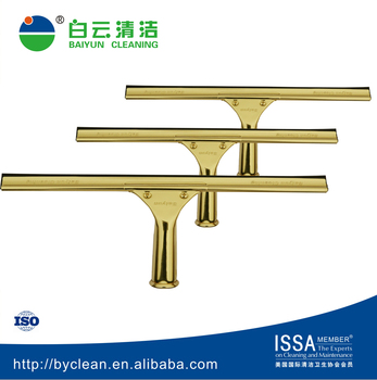 Copper window squeegee