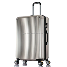 Various of size cheap good quality travel trolley luggage bags with TSA