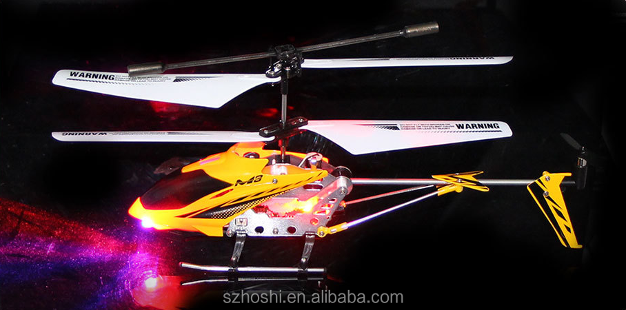 skytech RC Helicopter M3 3.5 Channel Mini Indoor Co-Axial Metal RC Helicopter w/ Built in Gyroscope