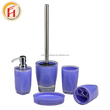 Factory Direct High Quality Plastic Bathroom Set Toothbrush Holder Toothbrush Cup Combination Bathroom Accessory