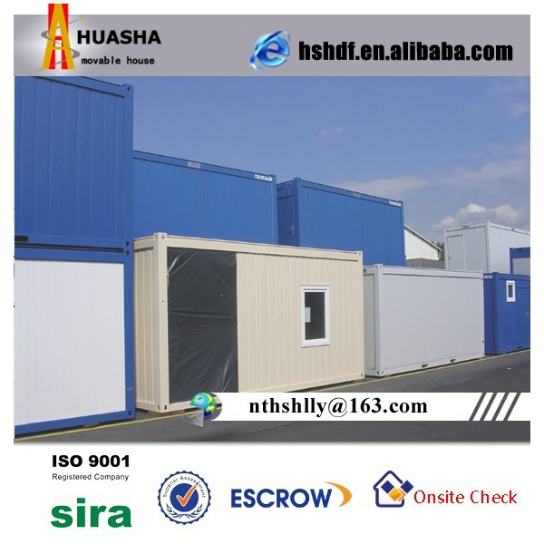 Sandwich Panel House Furnished Portable Cabin 20ft Container