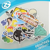 {Factory Direct Sale} (Pack of 50) Stickers Skateboard Snowboard Vintage Graffiti Laptop Luggage Car Bike Bicycle Vinyl Sticker