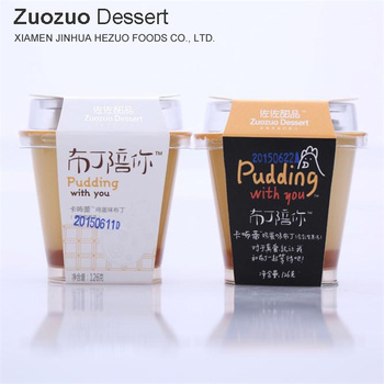 wholesale egg single cup jelly pudding with you 126g