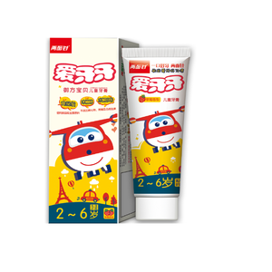Hot Sale Bulk Candy Fruit Toothpaste For Kids