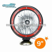 Hid driving fog lights red ring car roof fog lamp 4x4 spotlight 9 inch hid off road light SM3900