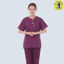 OEM Service Custom hospital uniform clinical medical scrubs uniforms