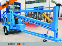 (16m)hydraulic electric trailer truck mounted hydraulic motorized lifting boom lift platform
