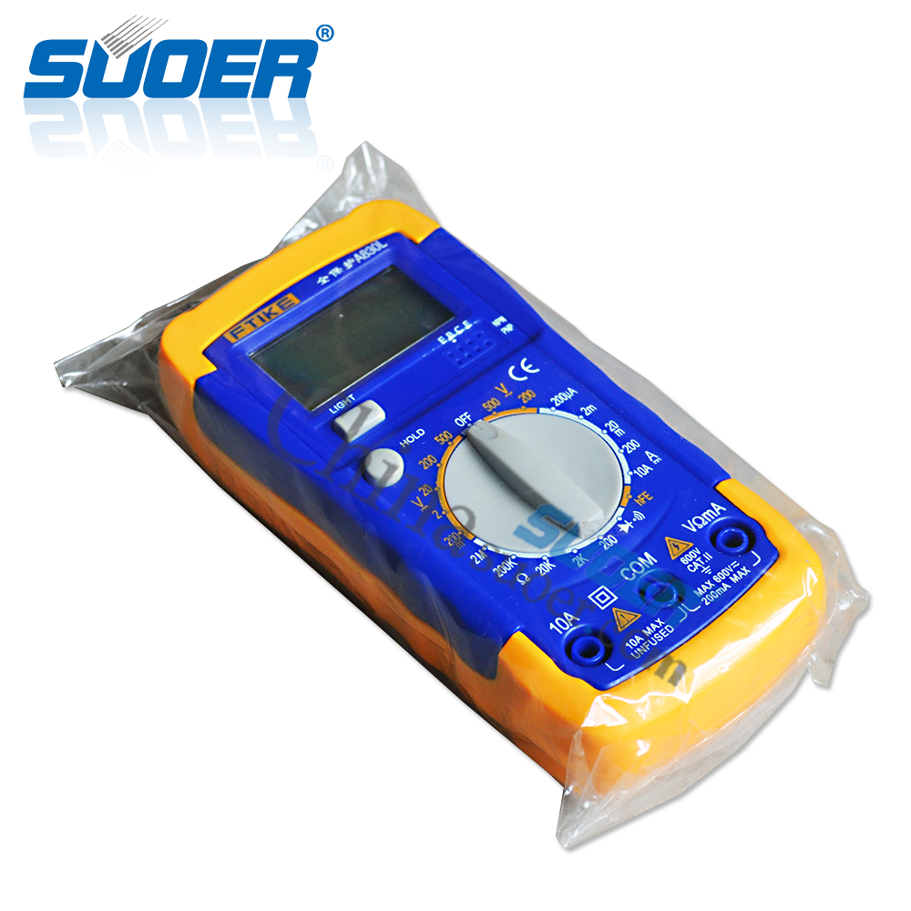 Suoer Multimeter Specifications Smart Multimeter with USB