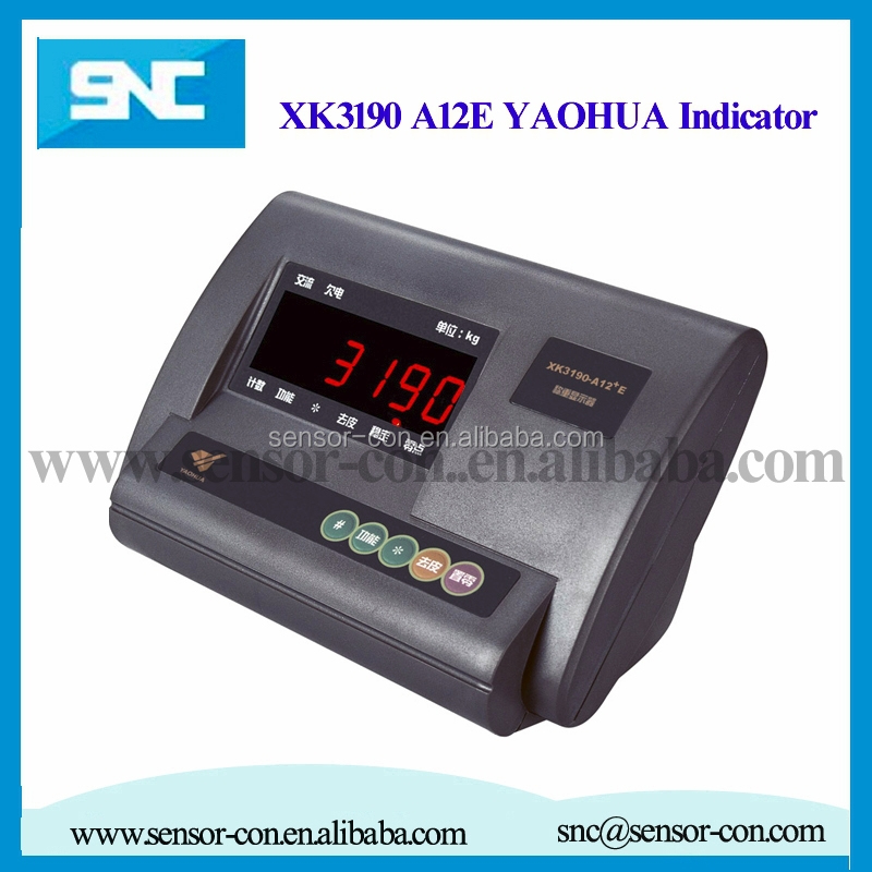 XK3190 A12e yaohua weighing indicator