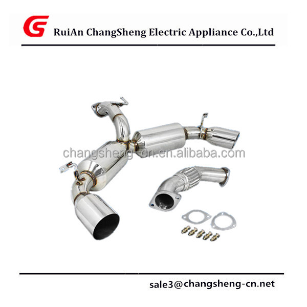 "NEW High Quality DUAL 4.5"" MUFFLER TIP RACING CATBACK EXHAUST SYSTEM FOR 90-95 MR-2 TURBO W20 3S"