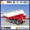 carbon steel stable working condition bulk cement tank semitrailer