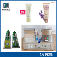 plastic/aluminum tube filling and sealing machine