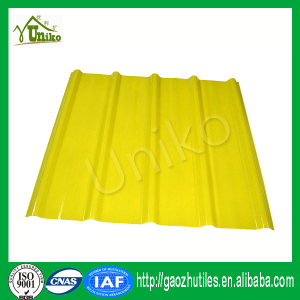 anti-slip 10 year guarantee 4 column hydraulic press FRP lighting roofing sheet
