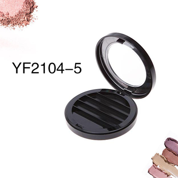 cheap wholesale plastic 4 colors eyeshadow case