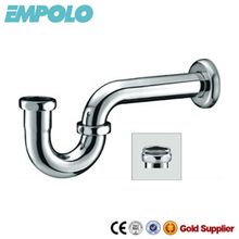 Brass p-trap, bottle trap for wash basin