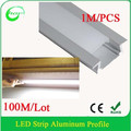 Aluminum 6063 T5 Recessed Surface Mounted Favorable Price led profile