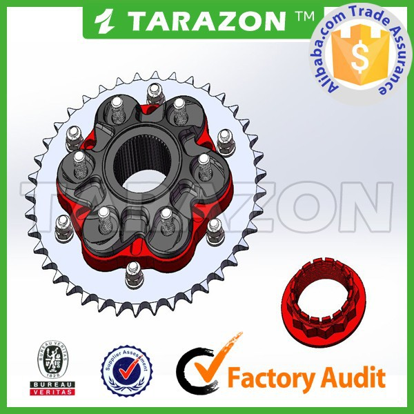 New product TARAZON brand china motorcycle spare parts for superbike sprockets