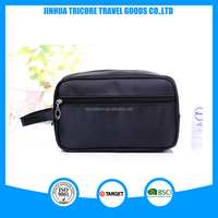 2015 useful Satin wash bag personalized for men toilet bag travel bag