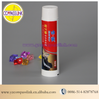 White Empty Tubes Offset Printing With Your Requests For Shoe Cream