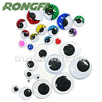 10mm colorful plastic animal eyes for kids DIY craft
