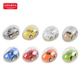 Hot selling kids plastic egg capsule pull back mini model toy car