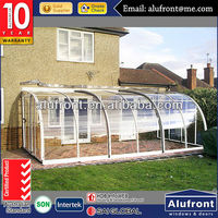 Guangzhou Manufacturer Aluminum Garden Glass Sunroom for Solarium