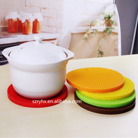 china supplier cool design silicone mat/silicone table mat/silicone lace mat