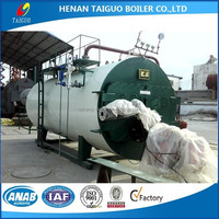 Industrial gas and oil hot water heater boiler for hotel