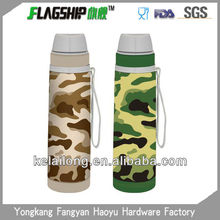 camouflage stainless steel vacuum 16 oz sports water bottles in various colors and capacities