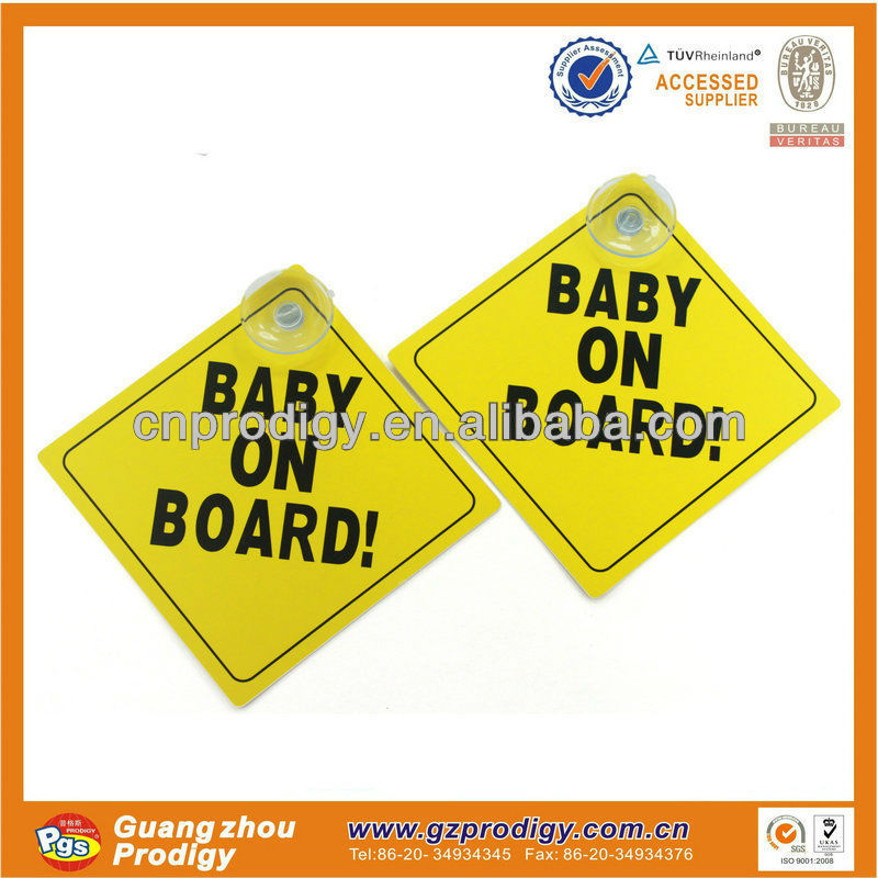 custom baby on board sign,car signs/baby on board sign/car window sticker