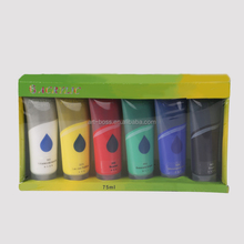 artboss 60ml acrylic paint set