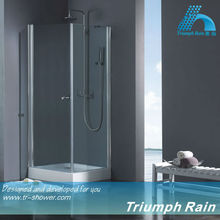 ACOC1802CL Pivot free standing safety glass shower enclosure/shower cabin/bathroom design