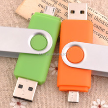 Colorful usb stick mobile phone charger with lovely design logo
