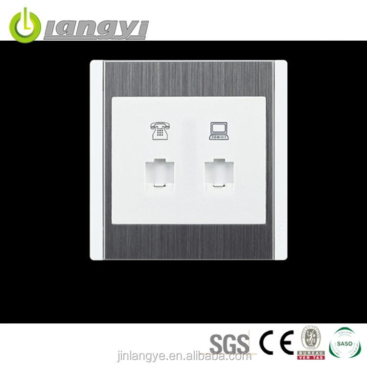 High Quality Factory Price Tel And Pc Socket