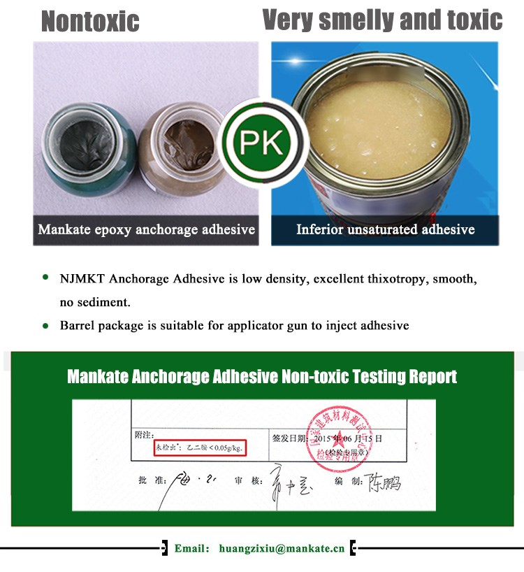 Epoxy resin glue rebar glue