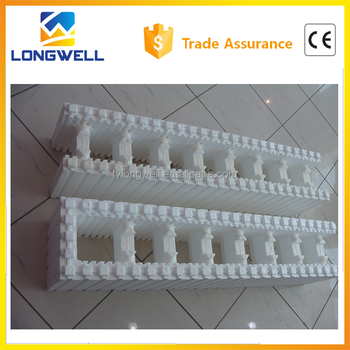 Insulated concrete form icf blocks for construction buy for Styrofoam concrete forms price