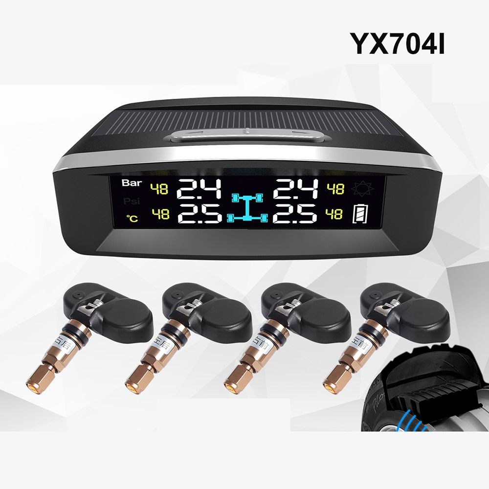 OEM TPMS Tire Pressure Monitoring System with wireless Internal & External Sensors DIY Tire Pressure Gauge