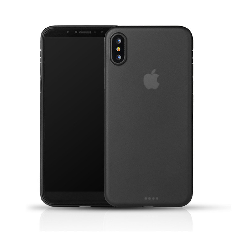 <strong>Hot</strong> Sell Ultra Thin PP Material Back Cover for iPhone X Mobile Phone Accessories