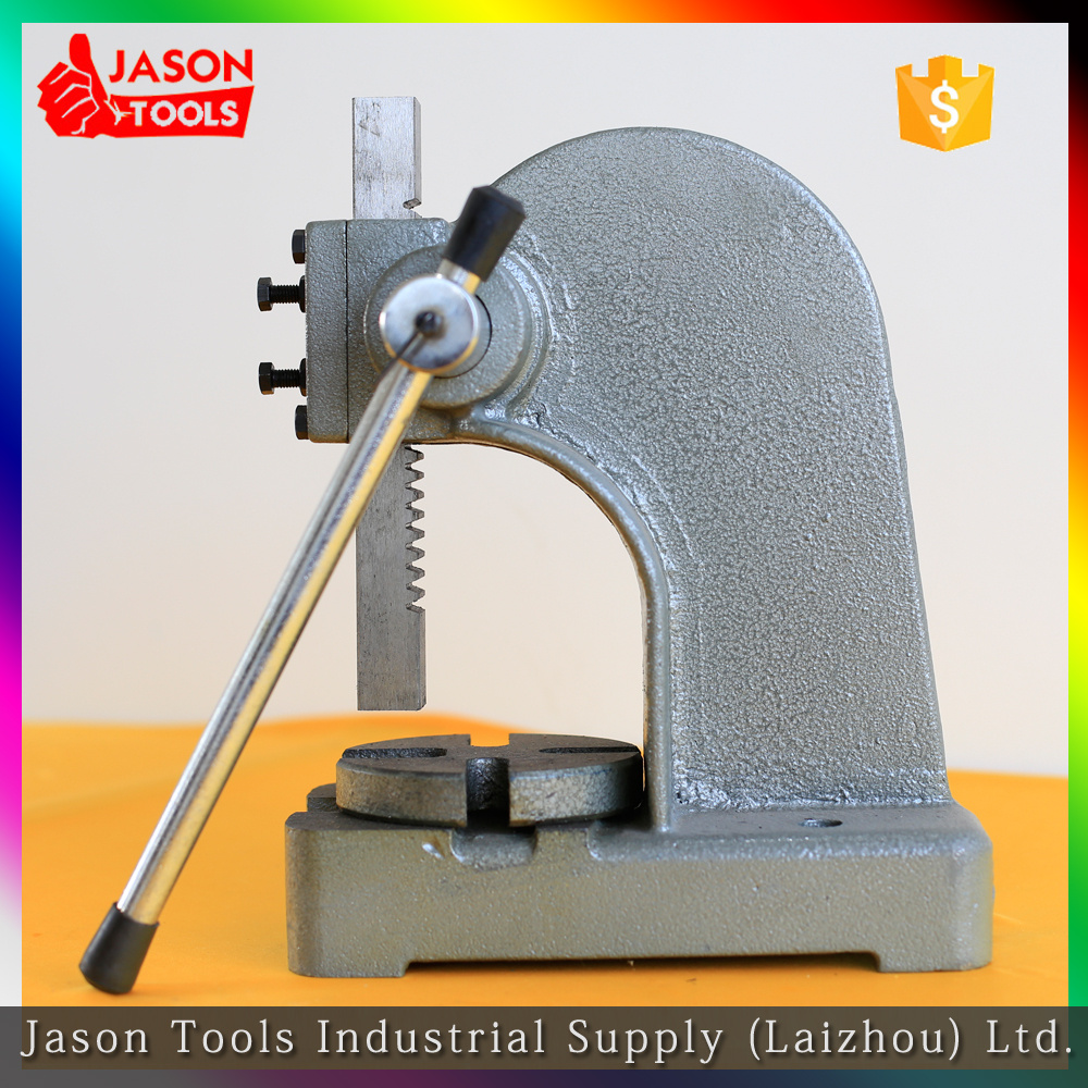 Manual press, hand tools