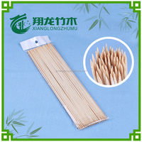 2.5*300mm long food round bamboo skewer