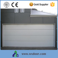 3-layer construction side opening garage doors factory