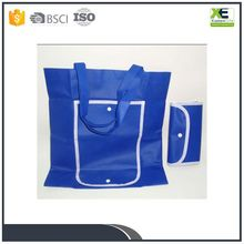Professional Factory Supply Polyester Foldable Shopping Bag Foldable Trolley Shopping Bag